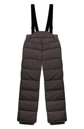 Детский пуховые брюки HERNO темно-серого цвета, арт. PI0061B/12004/4A-8A | Фото 2
