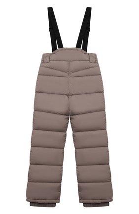 Детский пуховые брюки HERNO бежевого цвета, арт. PI0061B/12004/4A-8A | Фото 2