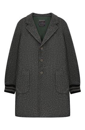 Детское пальто PAOLO PECORA MILANO серого цвета, арт. PP2027/6Y-12Y | Фото 1