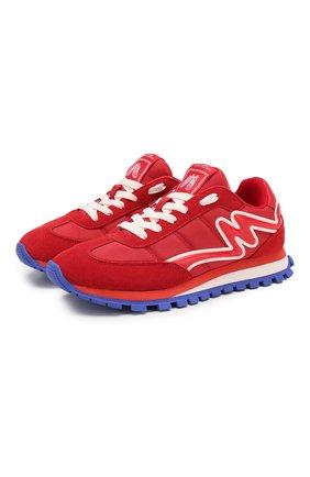 Комбинированные кроссовки Jogger | Фото №1