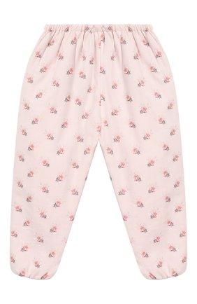 Детские хлопковые брюки TARTINE ET CHOCOLAT светло-розового цвета, арт. TP22021/18M-3A | Фото 1