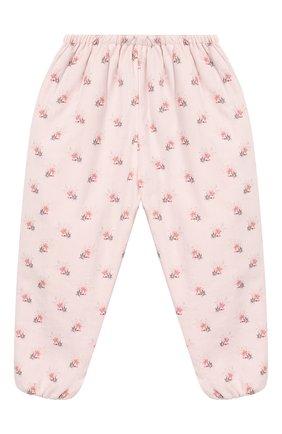 Детские хлопковые брюки TARTINE ET CHOCOLAT светло-розового цвета, арт. TP22021/18M-3A | Фото 2