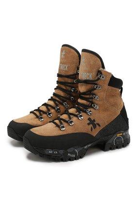 Замшевые ботинки Mid-Treck | Фото №1