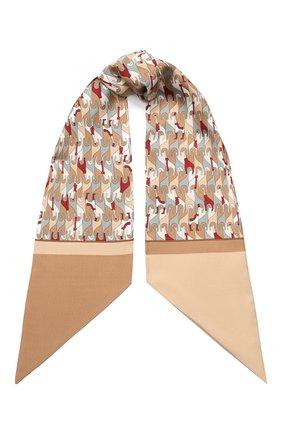 Шелковый шарф-бандо Regina Delle Ande   Фото №1