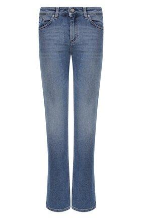 Женские джинсы TOTÊME голубого цвета, арт. STRAIGHT DENIM 32 193-233-741 | Фото 1