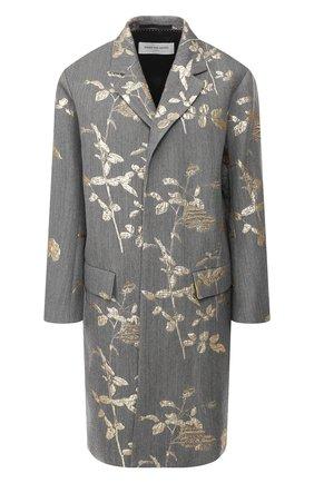 Женское пальто DRIES VAN NOTEN серого цвета, арт. 192-10278-8362 | Фото 1
