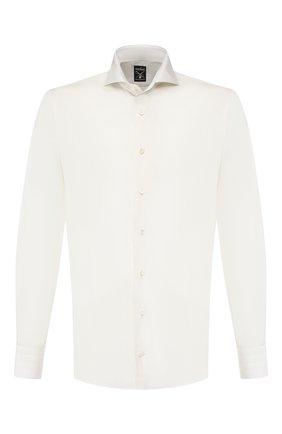 Мужская хлопковая сорочка VAN LAACK кремвого цвета, арт. MES0-SF/150005 | Фото 1