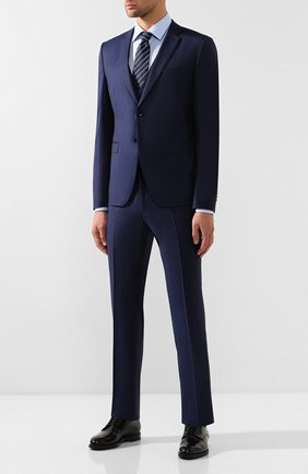 Мужская хлопковая сорочка VAN LAACK голубого цвета, арт. TET2-PTF/161258 | Фото 2