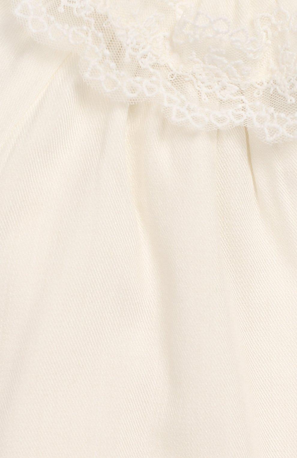 Женский платье из смеси вискозы и шерсти TARTINE ET CHOCOLAT кремвого цвета, арт. TP30031/1M-1A | Фото 3