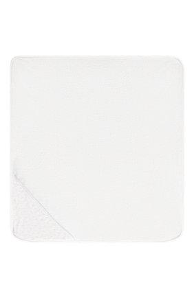 Детского комплект из полотенца и рукавицы KISSY KISSY голубого цвета, арт. 48609 | Фото 3 (Материал: Текстиль, Хлопок; Статус проверки: Проверено)