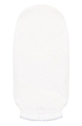 Детского комплект из полотенца и рукавицы KISSY KISSY голубого цвета, арт. 48609 | Фото 4 (Материал: Текстиль, Хлопок; Статус проверки: Проверено)