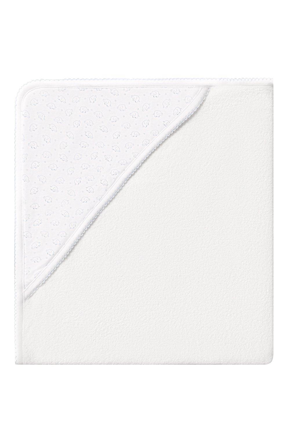 Детского комплект из полотенца и рукавицы KISSY KISSY голубого цвета, арт. 48609 | Фото 5 (Материал: Текстиль, Хлопок; Статус проверки: Проверено)