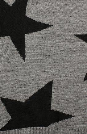 Детского шапка-балаклава MOLO серого цвета, арт. 7W19S401 | Фото 3