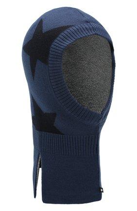 Детского шапка-балаклава MOLO синего цвета, арт. 7W19S401 | Фото 1