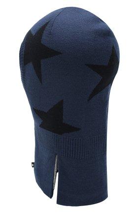 Детского шапка-балаклава MOLO синего цвета, арт. 7W19S401 | Фото 2