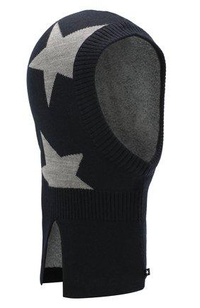 Детского шапка-балаклава MOLO черного цвета, арт. 7W19S401 | Фото 1
