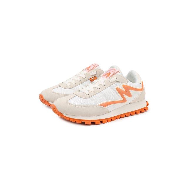 Комбинированные кроссовки Jogger MARC JACOBS (THE) — Комбинированные кроссовки Jogger