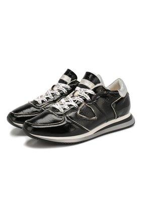 Кожаные кроссовки TRPX | Фото №1