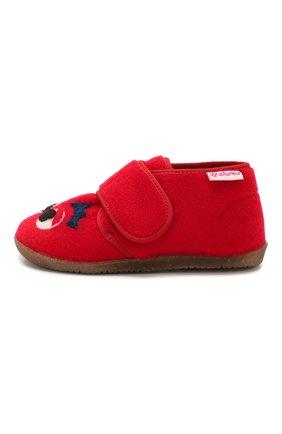 Детского домашние ботинки NATURINO красного цвета, арт. 0014000646/01/20-23 | Фото 2