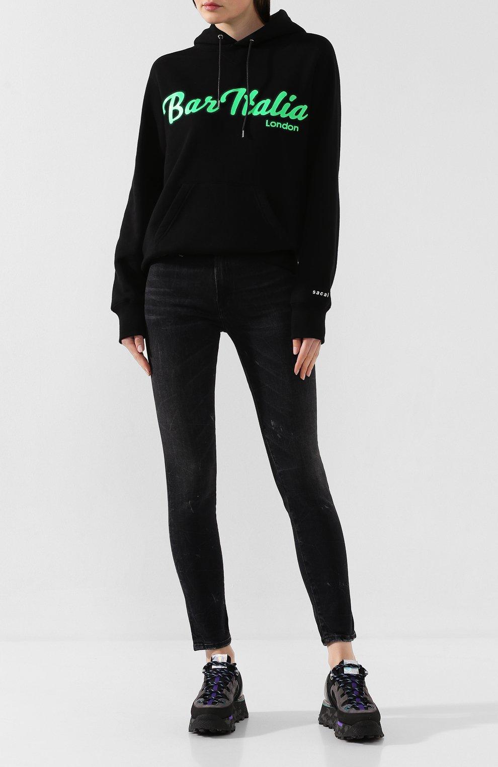 Женские джинсы R13 черного цвета, арт. R13W0023-40 | Фото 2