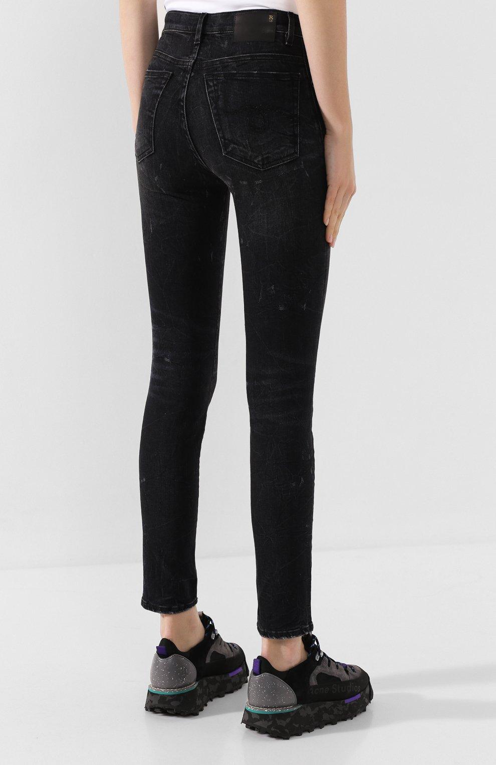 Женские джинсы R13 черного цвета, арт. R13W0023-40 | Фото 4