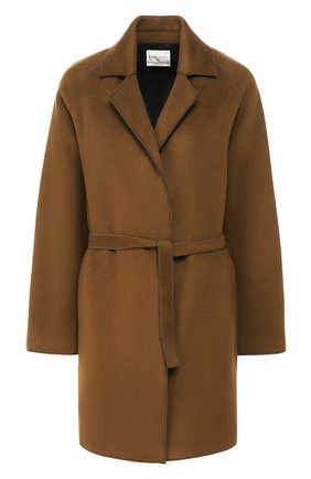 Женское пальто с поясом FORTE_FORTE хаки цвета, арт. 6715 | Фото 1