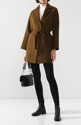 Женское пальто с поясом FORTE_FORTE хаки цвета, арт. 6715 | Фото 2