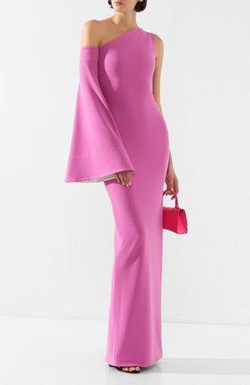 Женское платье-макси SOLACE сиреневого цвета, арт. 0S24019 | Фото 2