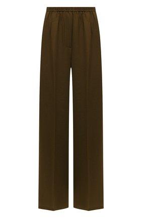 Женские шерстяные брюки FORTE_FORTE хаки цвета, арт. 6733 | Фото 1