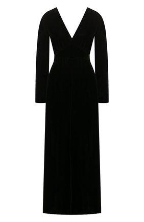 Женское платье из вискозы FORTE_FORTE черного цвета, арт. 6762 | Фото 1