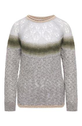 Женская свитер FORTE_FORTE светло-серого цвета, арт. 6844 | Фото 1