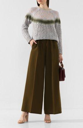Женская свитер FORTE_FORTE светло-серого цвета, арт. 6844 | Фото 2