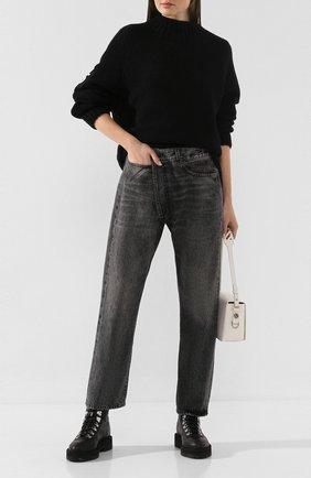 Женские джинсы R13 черного цвета, арт. R13W2048-549A   Фото 2