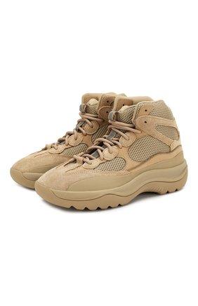 Кроссовки Yeezy Desert Boot Rock | Фото №1