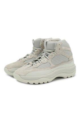 Кроссовки Yeezy Desert Boot Salt | Фото №1
