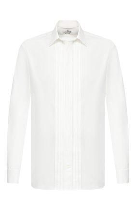 Мужская хлопковая сорочка VAN LAACK бежевого цвета, арт. M0BIERE-DTF/130657 | Фото 1