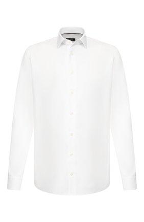 Мужская хлопковая сорочка VAN LAACK белого цвета, арт. TET2-PTF/161258 | Фото 1
