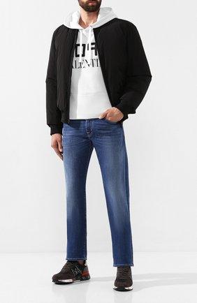 Мужские джинсы JACOB COHEN синего цвета, арт. J620 C0MF 00918-W2/52   Фото 2