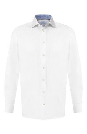 Мужская хлопковая сорочка ETON белого цвета, арт. 1000 00105   Фото 1