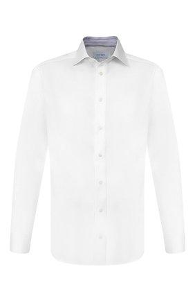 Мужская хлопковая сорочка ETON белого цвета, арт. 1000 00061   Фото 1
