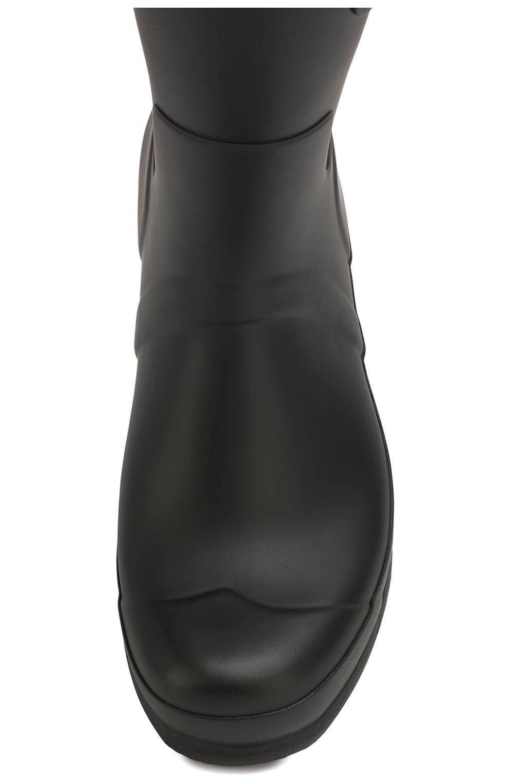 Мужские резиновые сапоги HUNTER черного цвета, арт. MFS9000RMA | Фото 5