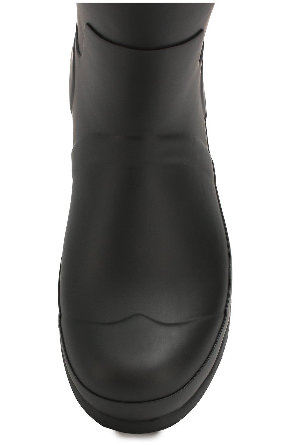 Мужские резиновые сапоги HUNTER черного цвета, арт. MFS9097RMA | Фото 5