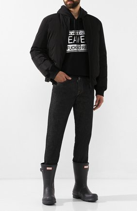 Мужские резиновые сапоги HUNTER темно-серого цвета, арт. MFS9097RMA | Фото 2