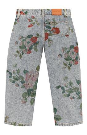 Детские джинсы GUCCI голубого цвета, арт. 572172/XDART | Фото 2