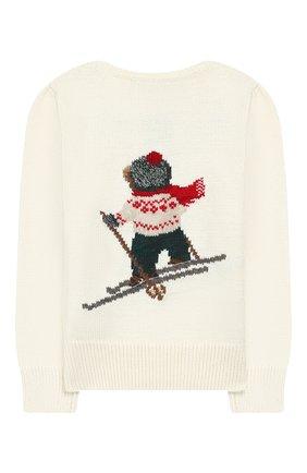 Пуловер из смеси хлопка и шерсти   Фото №2