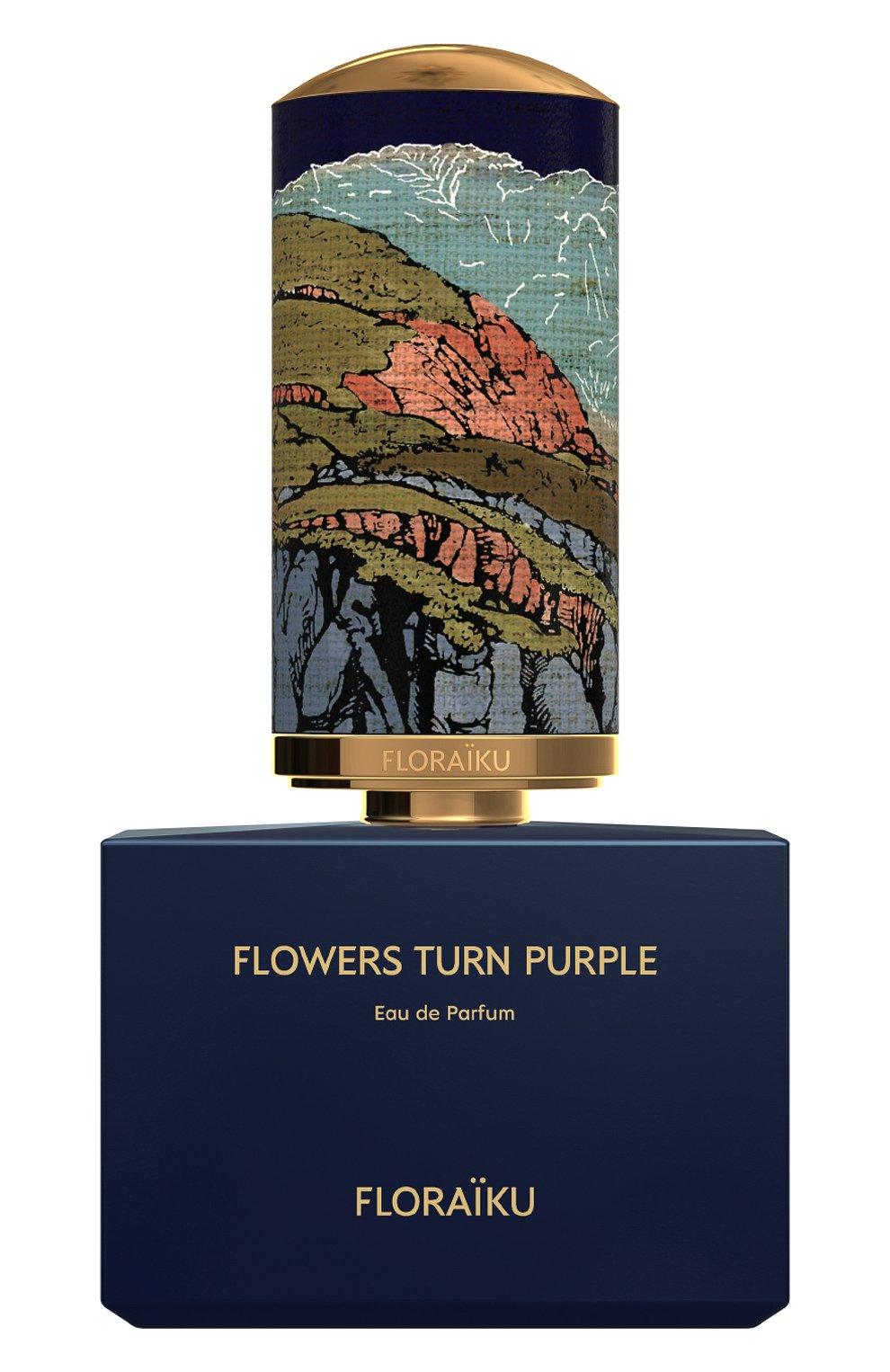 Женский парфюмерная вода flowers turn purple FLORAIKU бесцветного цвета, арт. 3701123002861 | Фото 1
