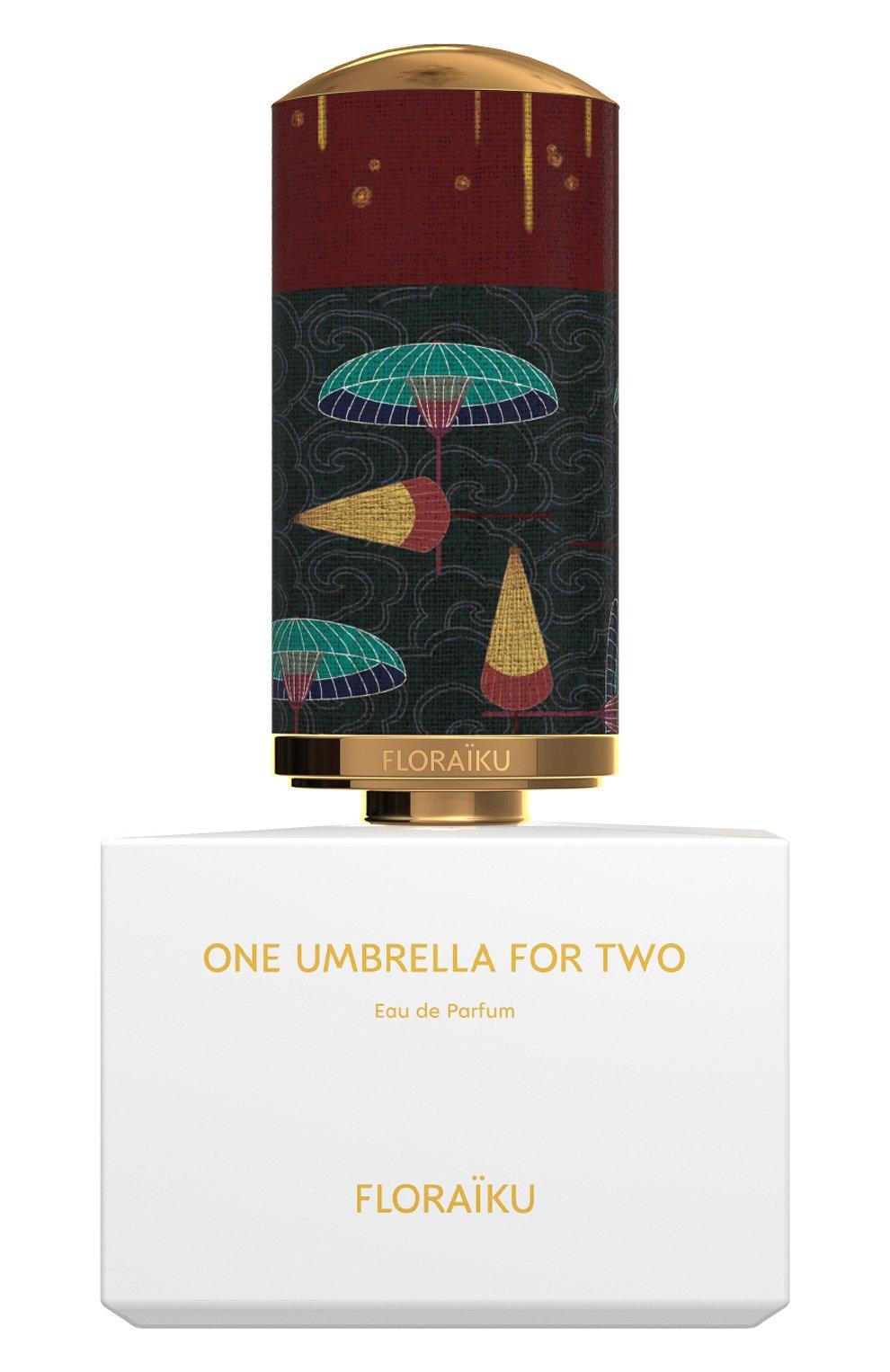 Женский парфюмерная вода one umbrella for two FLORAIKU бесцветного цвета, арт. 3701123000089 | Фото 1