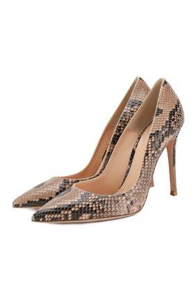 Туфли Gianvito 105 из кожи питона | Фото №1