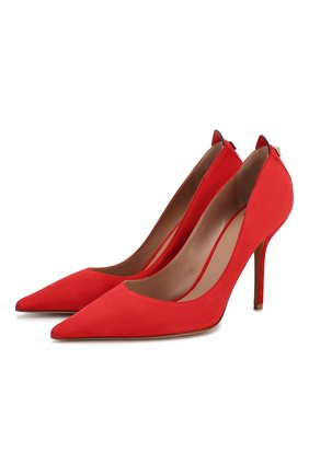 Женская замшевые туфли valentino garavani rouge bond VALENTINO красного цвета, арт. SW2S0Q06/KQR | Фото 1