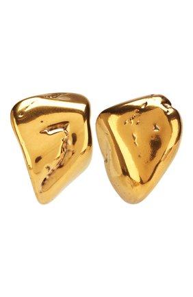 Женские серьги rock BALENCIAGA золотого цвета, арт. 578183/TZ35Z | Фото 1